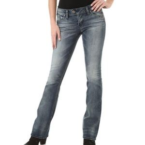 SILVER Tuesday Low Rise Bootcut